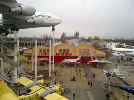 Technik Museum Speyer - view angle